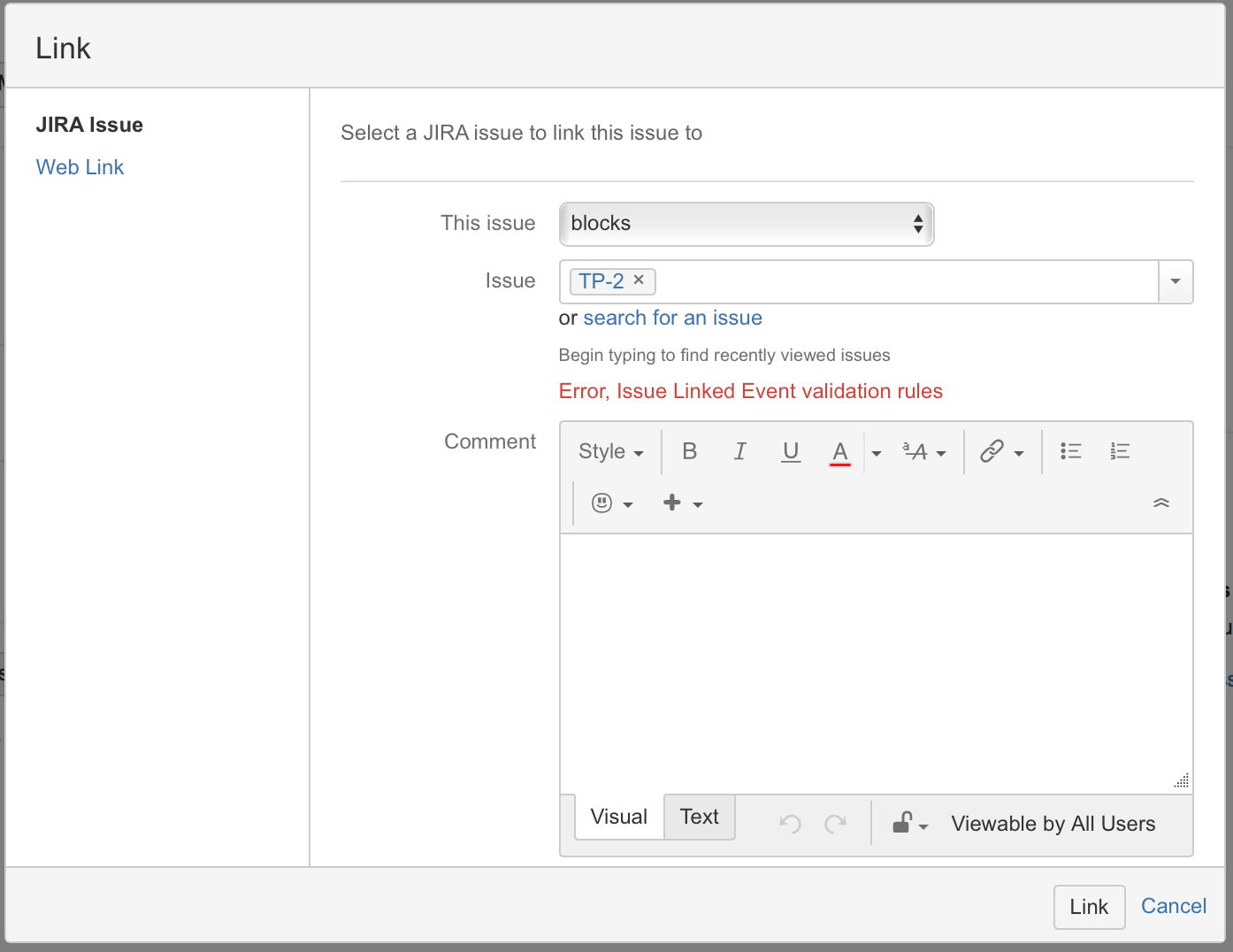 Issue Linked Event for JIRA | it Lab - Adam Labus